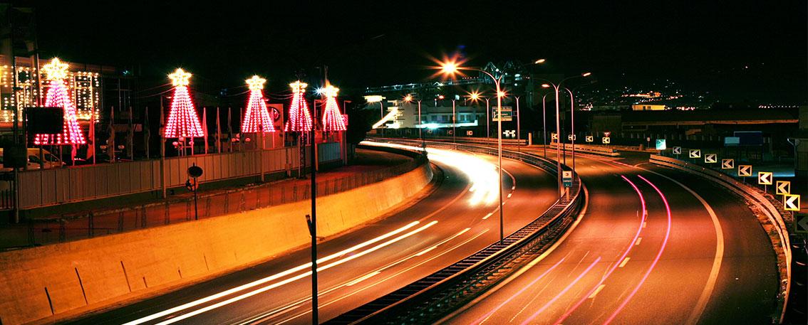 Christmas Driving