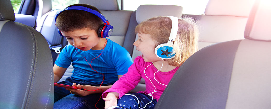 Kids and Long Car Journeys