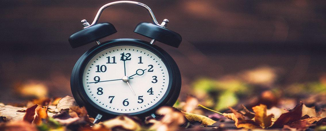 Clock Autumn