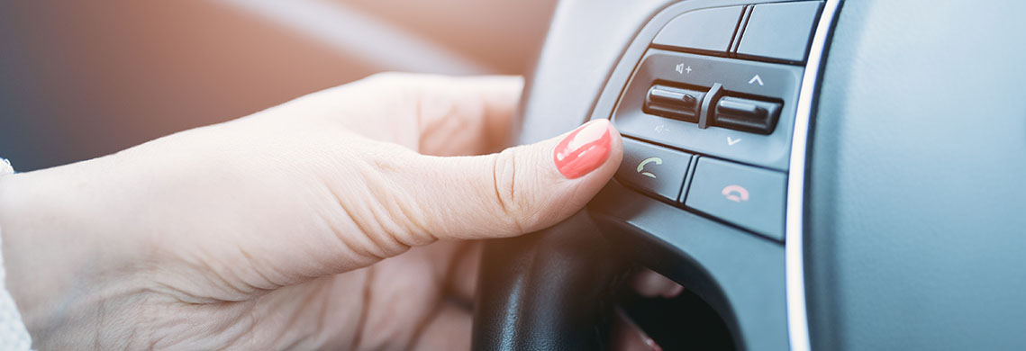 Woman Driving Image